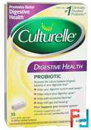 Digestive Health Probiotic, Culturelle, 30 Once Daily Capsules