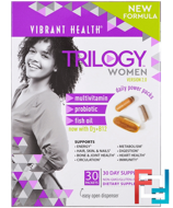 Trilogy Women, Daily Power Packs, Version 2.0, Vibrant Health, 30 Packets