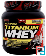 100% Pure Titanium Whey, SAN Nutrition, 17.5 oz, 495.2 g