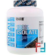 100% Isolate, EVLution Nutrition, 4 lb, 1814 g