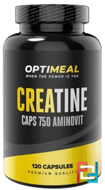Creatine Monohydrate, OptiMeal, 750 mg, 120 caps