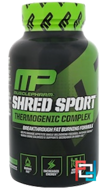 Shred Sport, Thermogenic Complex, MusclePharm, 60 Capsules