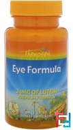 Eye Formula, Thompson, 30 Vegetarian Capsules