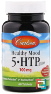 5-HTP Elite, Carlson Labs, 50 mg, 60 Tasty Tablets
