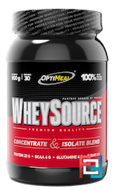 WheySource, Concentrate & ISOLATE blend, OptiMeal, 900 g