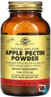 Apple Pectin Powder, Solgar, 4 oz (113.4 g)