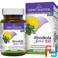 Rhodiola Force 100, New Chapter, 30 Veggie Caps