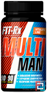 Multi Man, FIT-Rx, 90 tablets