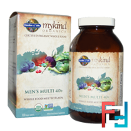 Men's Multi 40+, Garden of Life, MyKind Organics, 120 Vegan Tablets