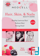 Hair, Skin, & Nails Beauty Chews, Berry Medley, Neocell, 30 Soft Chews