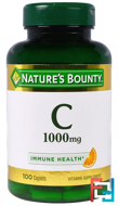 Vitamin C, 1000 mg, Nature's Bounty, 100 Caplets