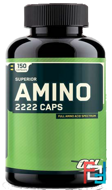 Super Amino 2222 Caps, Optimum Nutrition, 150 сapsules