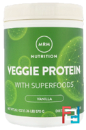 100% All Natural Veggie Protein with Superfoods, MRM, 20.1 oz, 570 g