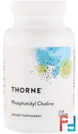 Phosphatidyl Choline, Thorne Research, 60 Gelcaps