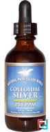 Colloidal Silver, 250 ppm, Natural Path Silver Wings, 2 fl oz (60 ml)