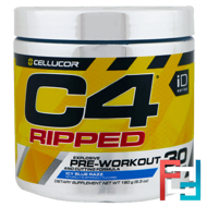C4 Ripped, Pre-Workout, Cellucor, 6.34 oz, 180 g