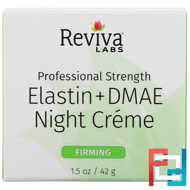 Elastin + DMAE Night Creme, Reviva Labs, 1.5 oz, 42 g