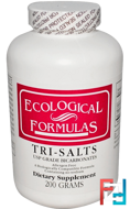 Tri-Salts, Cardiovascular Research Ltd., 200 g