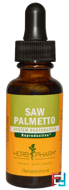 Saw Palmetto, Herb Pharm, 1 fl oz, 29.6 ml