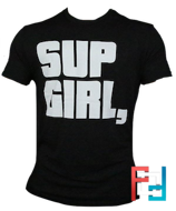T-Shirt (футболка) Sup Girl, , Blackstone Labz