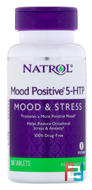 Mood Positive 5-HTP, Natrol, 50 mg, 50 Tablets