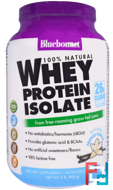 100% Natural Whey Protein Isolate, Bluebonnet Nutrition, 2 lbs, 924 g