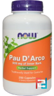 Pau D' Arco, Now Foods, 500 mg, 250 Capsules