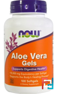 Aloe Vera Gels, Now Foods, 100 Softgels