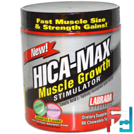 HICA-Max, Muscle Growth Stimulator, Labrada Nutrition, 90 Chewable tablets