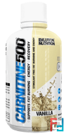 Carnitine500, Vanilla, EVLution Nutrition, 16 oz (465 ml)