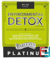 Environmental Detox, Melon Flavor, Barlean's, 7.41 oz, 210 g