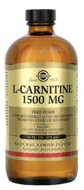 L-Carnitine, Solgar, 1500 mg, 473 ml