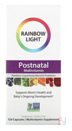 Vibrance, Postnatal Multivitamin, Rainbow Light, 120 Capsules