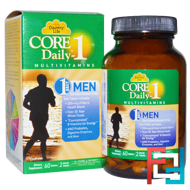 Core Daily-1 Multivitamins, Men, Country Life, 60 Tablets