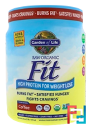 High Protein for Weight Loss, RAW Organic Fit, Garden of Life, 15.1 oz, 427 g