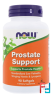 Prostate Support, Now Foods, 90 Softgels