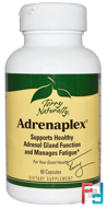 Terry Naturally, Adrenaplex, EuroPharma, 60 Capsules