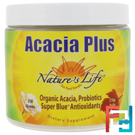 Acacia Plus, Cinnamon Honey Lemon, Nature's Life, 210 g