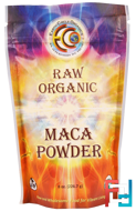 Raw Organic Maca Powder, Earth Circle Organics, 8 oz, 226.7 g