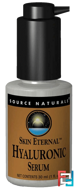 Skin Eternal, Hyaluronic Serum, Source Naturals, 1 fl oz (30 ml)