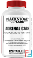 Adrenal Care, Blackstone Labs, 120 tablets
