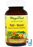 Multi for Women, MegaFood, 120 Tablets