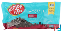 Regular Size Morsels, Dark Chocolate, Enjoy Life Foods, 9 oz (255 g)