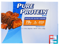 Chocolate Salted Caramel Bar, Pure Protein, 6 Bars, 1.76 oz (50 g) Each