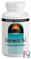 Coenzymated B-2, Sublingual, Source Naturals, 60 Tablets
