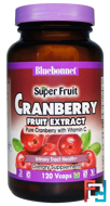 Super Fruit, Cranberry Fruit Extract, Bluebonnet Nutrition, 120 Veggie Caps