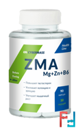 ZMA Mg+Zn+B6, Cybermass, 90 capsules