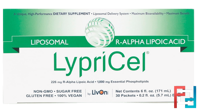 Liposomal R-ALA, 30 Packets, LypriCel, 0.2 fl oz (5.7 ml) Each