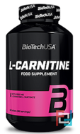 L-Carnitine 1000 mg, BioTechUSA, 30 tablets