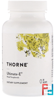 Ultimate-E, Thorne Research, 60 Gelcaps